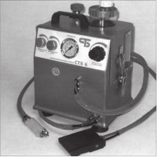 Міні-гідропіскоструминний апарат CTS 6